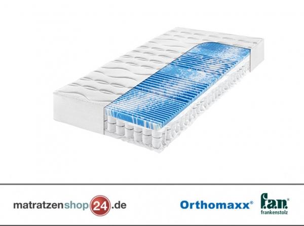 Taschenfederkernmatratze Orthomaxx Gelart-T