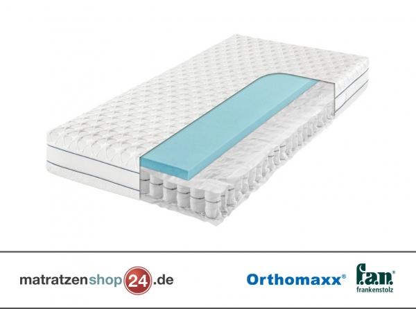 Taschenfederkernmatratze Orthomaxx GEL-T